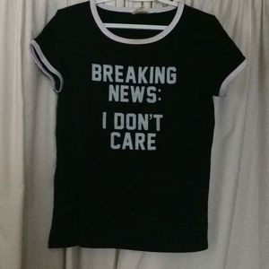 A graphic tee